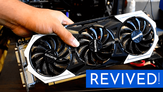How I revived this old graphics card – Thermal Paste and Pads Change