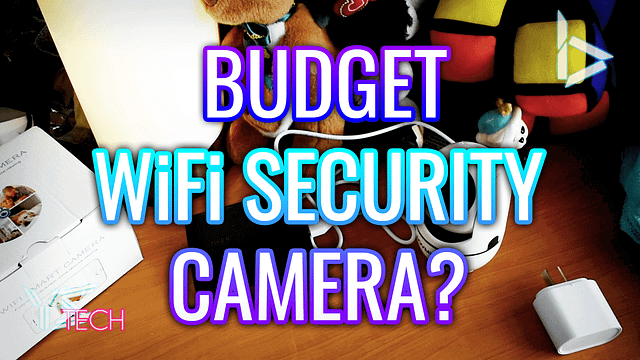 Budget WiFi Security Camera Unboxing – Sovmiku