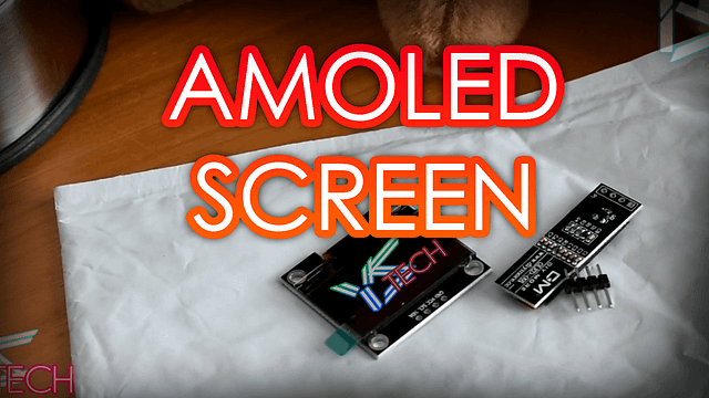 Dirt Cheap Mini AmoLED Screen