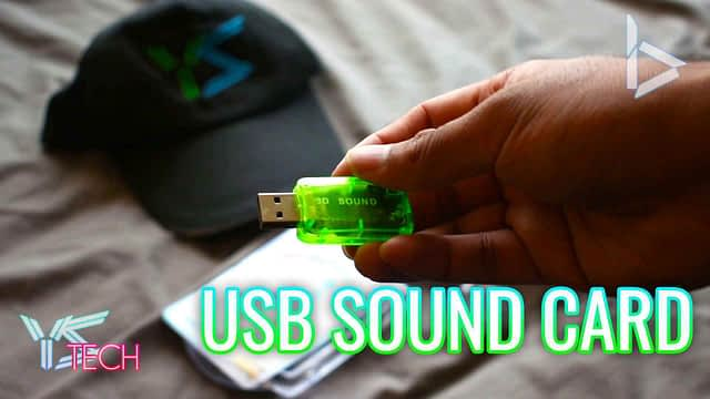 USB Sound Card – Unboxing