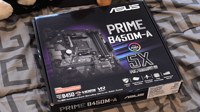 Asus Prime B450M-A Motherboard 'Unboxing'