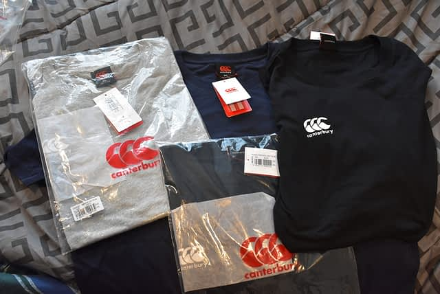 Canterbury Shirts Unboxing