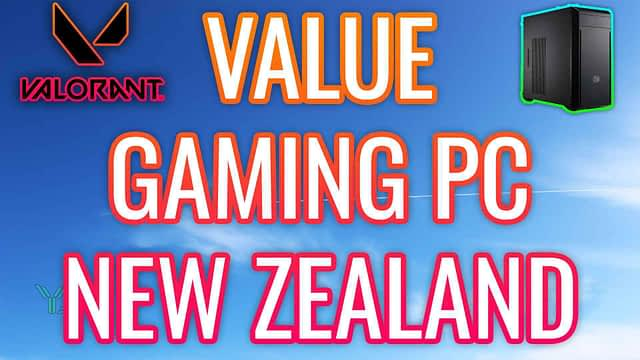 THE BEST VALUE GAMING PC NEW ZEALAND
