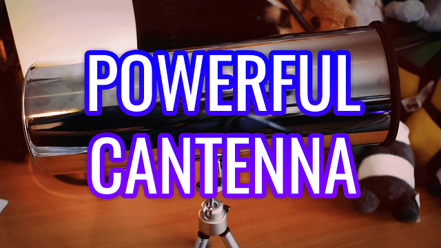 Cantenna Unboxing from Andrew Mckneil
