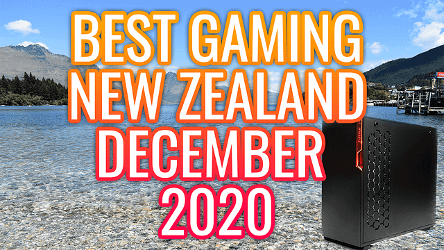 Best Gaming PC New Zealand December Christmas 2020