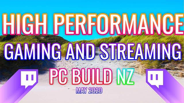 NO COMPROMISES GAMING & STREAMING PC NZ