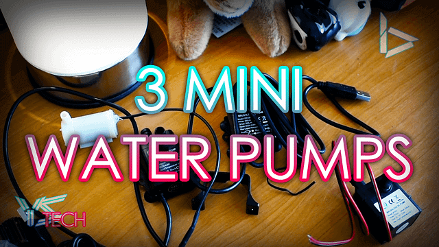 3 Mini Water Pumps