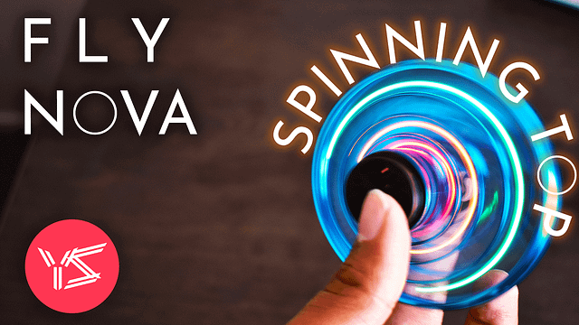 Flynova Spinning Top Unboxing
