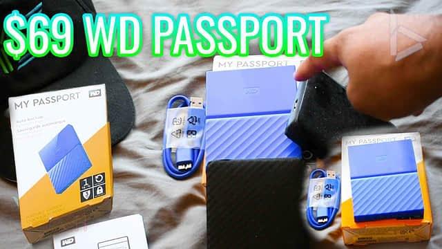 $69 WD Passport External Drive