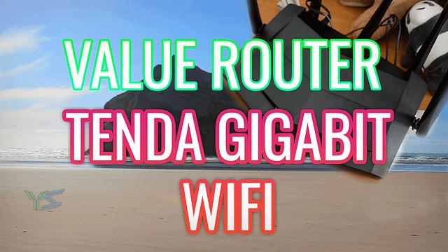 Tenda Gigabit Router Unboxing