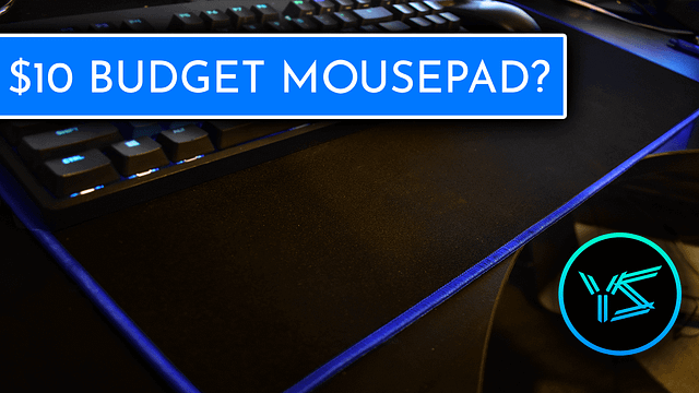 Is this budget mousepad any good?