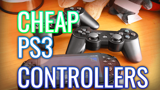 Aliexpress PS3 Controllers