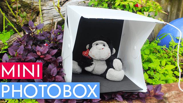 Portable Mini Photobox with LED