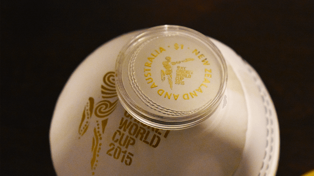 ICC Cricket World Cup Coin 2015 Unboxing and Showcase