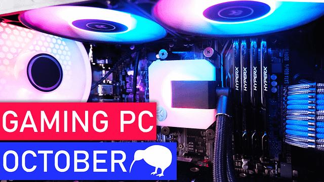 Gaming PC Build New Zealand – October 2021
