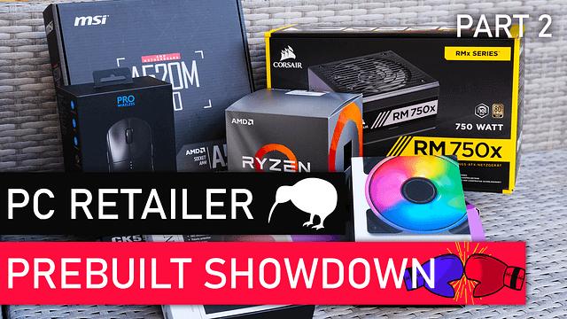 Pre-built Gaming PC V DIY Showdown New Zealand
