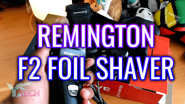 Remington F2 Foil Shaver Unboxing (F2-3800L)