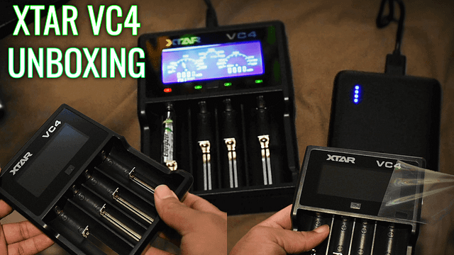 Xtar VC4 Battery Charger Unboxing