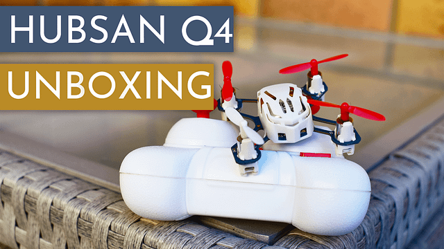 Hubsan Q4 Nano Unboxing and Small Test Flight
